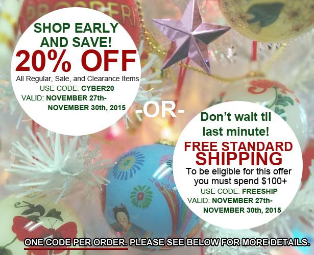 free Standard shipping coupon